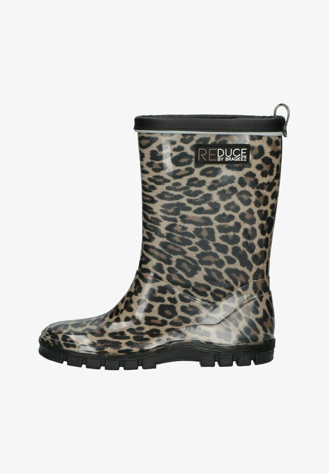Regenlaarzen - leopard