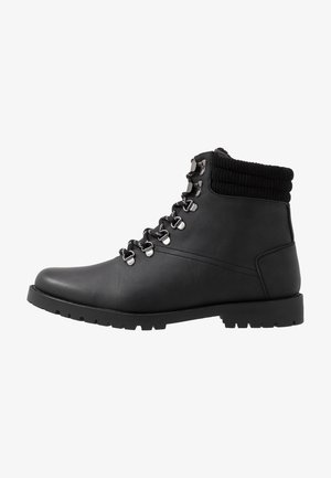 MIKE HIKER BOOT - Bottines à lacets - black