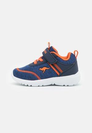 KY-CHUMMY  - Trainers - dark navy/neon orange