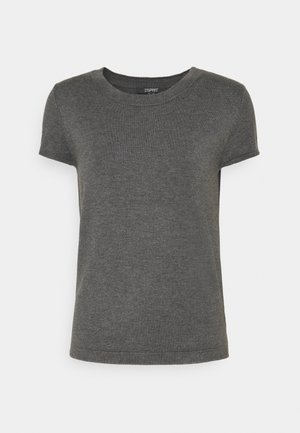ECO VERO  - T-shirt basic - gunmetal