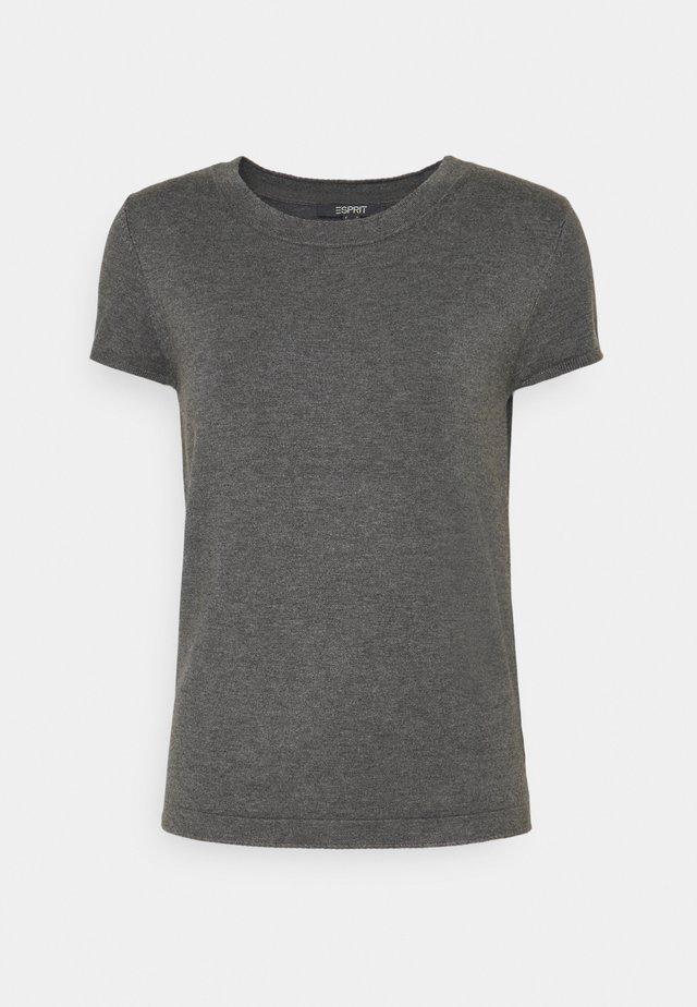 ECO VERO  - Basic T-shirt - gunmetal