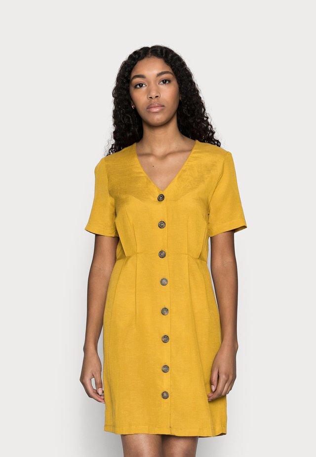 ONLVIVA LIFE BUTTON DRESS - Abito a camicia - golden spice