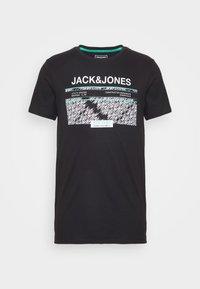 JCOBOOSTER TEE CREW NECK - Print T-shirt - black