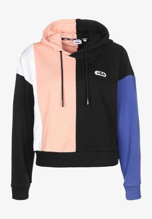 BAYOU - Sweatshirt - black/bright white/coral/blu