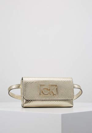 SIGNATURE BELTBAG - Sac banane - gold