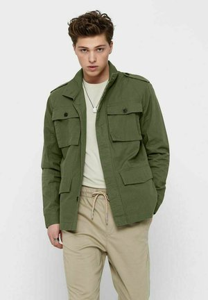 Summer jacket - olive night