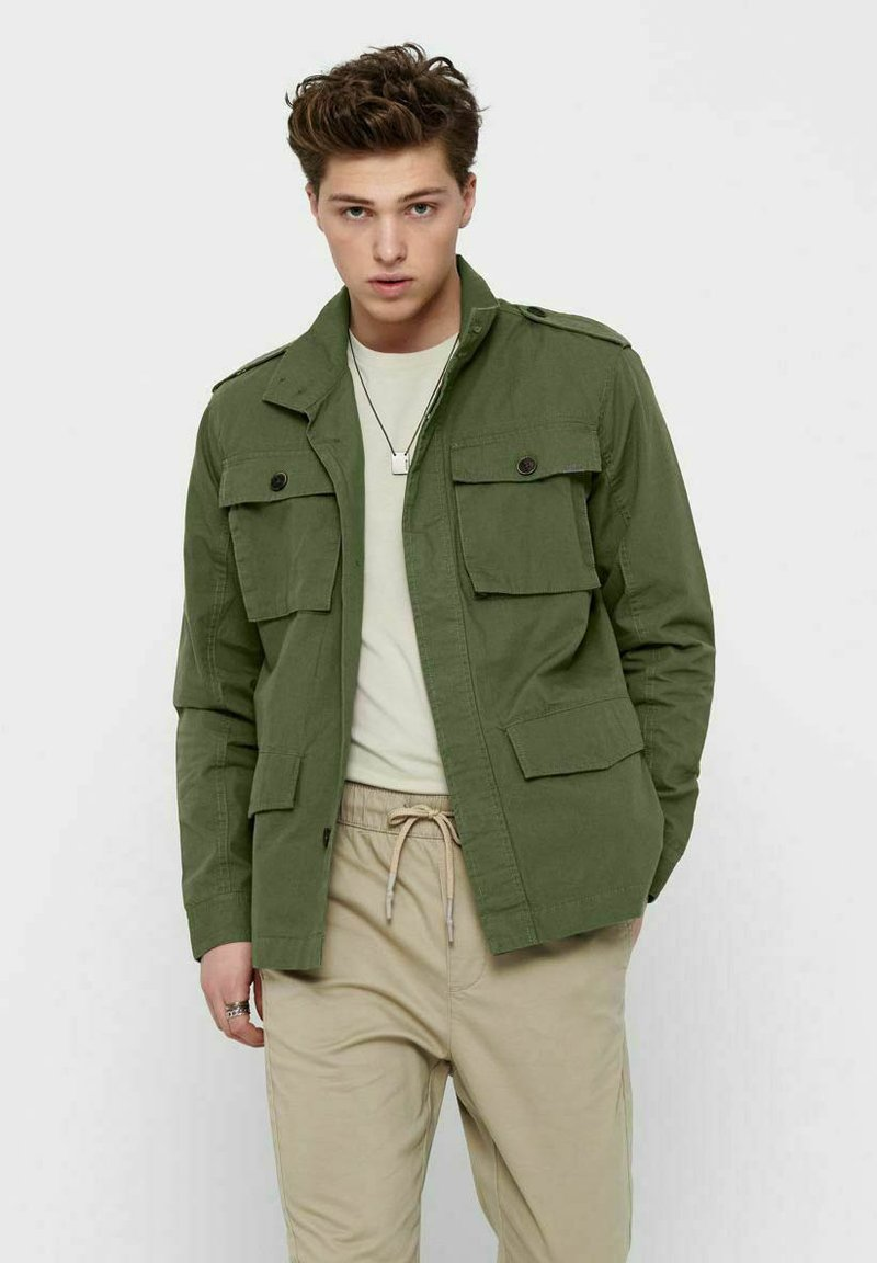 Only & Sons - Summer jacket - olive night