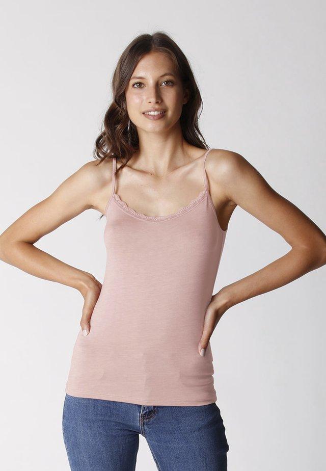 Top - rosa mattone