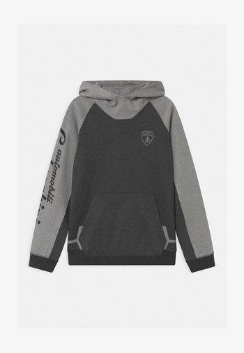 COLOR BLOCK HOODED - Sweatshirt - grey estoque