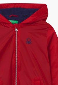 Benetton - BASIC BOY - Light jacket - red - 3