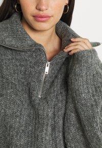 Gina Tricot - LESLIE - Jumper - mid grey melange - 5