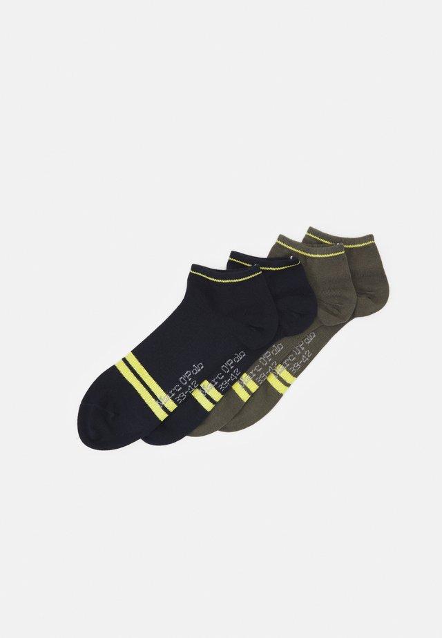 SNEAKER 4 PACK - Ponožky - dark blue