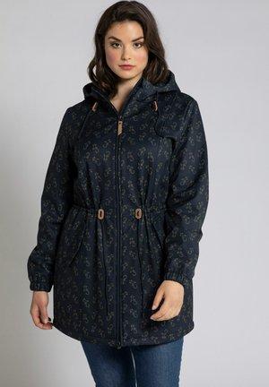 Soft shell jacket - bleu marine