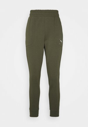 NU-TILITY PANTS - Tracksuit bottoms - forest night