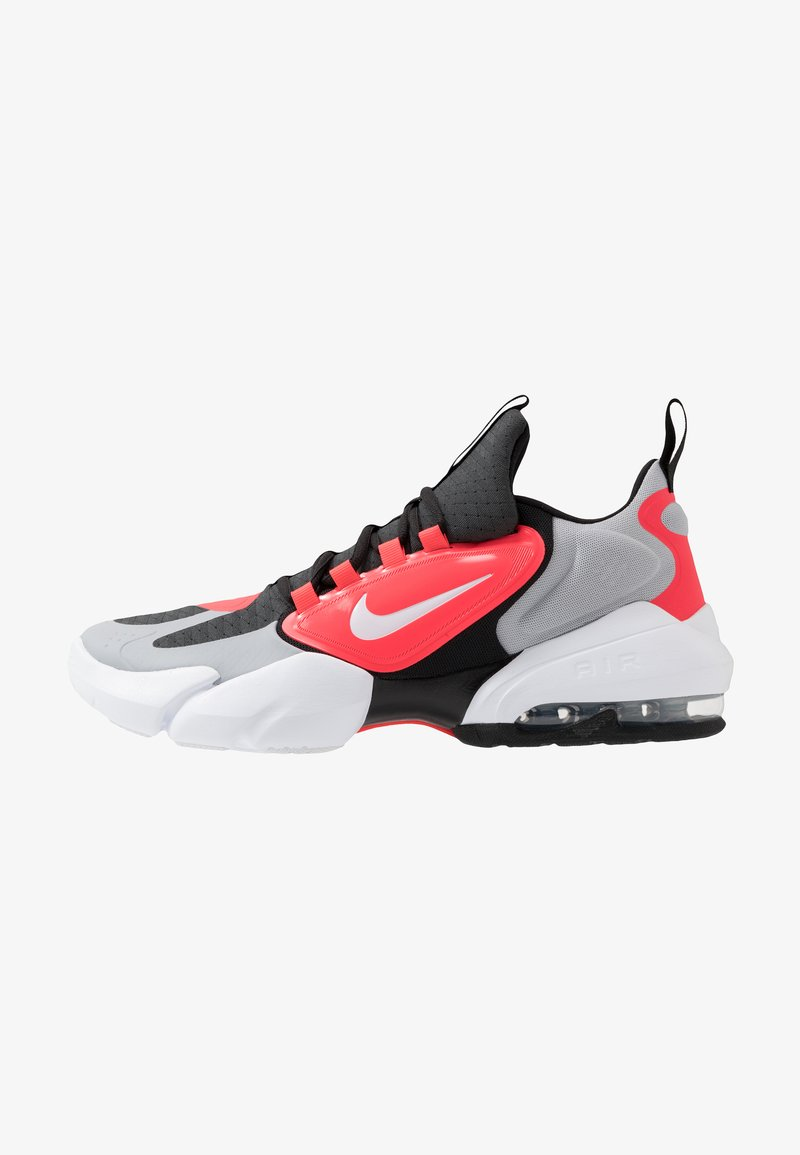 Nike Performance - AIR MAX ALPHA SAVAGE - Sports shoes - wolf grey/white/laser crimson/anthracite
