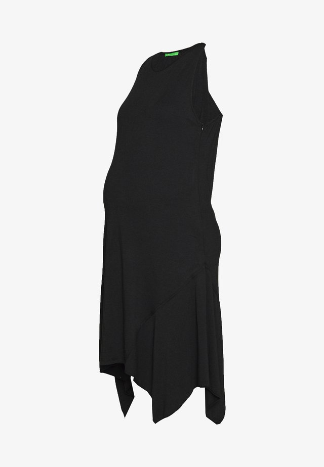 DESIREE DRESS - Trikoomekko - black