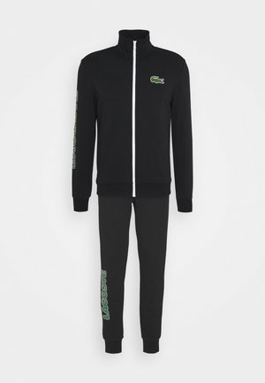 TRACKSUIT - Tracksuit - black/green/white