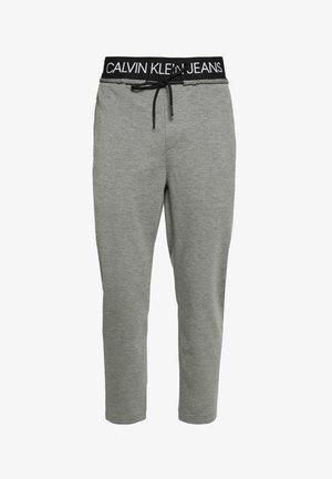 EXPOSED WAISTBAND MILANO PANT - Trainingsbroek - mid grey heather