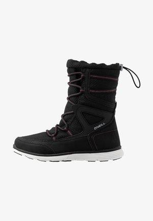 GLACIER - Vinterstøvler - black