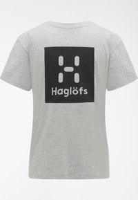 Haglöfs - Print T-shirt - grey melange - 5