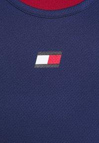 Tommy Sport - PERFORMANCE TANK TOP - Sportshirt - blue - 5