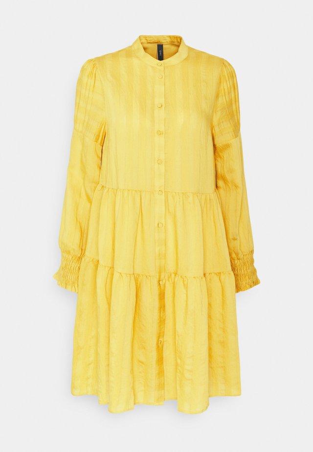 YASSUN SHIRT DRESS - Korte jurk - ceylon yellow
