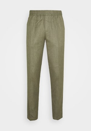SMITHY TROUSERS - Trousers - deep lichen green