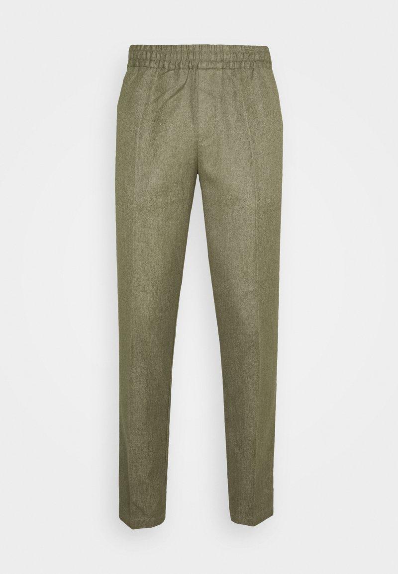 Samsøe Samsøe - SMITHY TROUSERS - Pantalones - deep lichen green