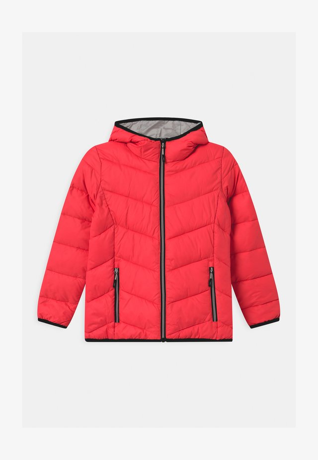 GIRL FIX HOOD - Veste d'hiver - red fluo