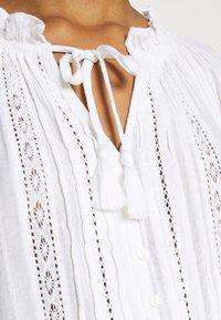 American Eagle - TIE NECK BUBBLE - Blouse - white - 6