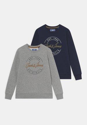 JORJERRY CREW NECK JR 2 PACK - Sweatshirt - navy blazer