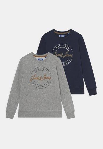 JORJERRY CREW NECK JR 2 PACK - Sweater - navy blazer