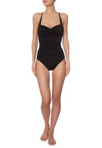 Seafolly - TWIST BANDEAU MAILLOT - Swimsuit - black - 1