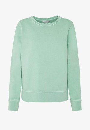 VALERA SLIM ROUND - Sweatshirt - sea mist mint