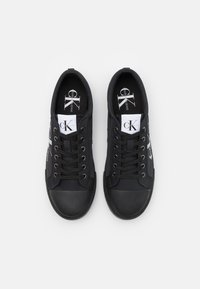 Calvin Klein Jeans - LACEUP - Trainers - full black - 3