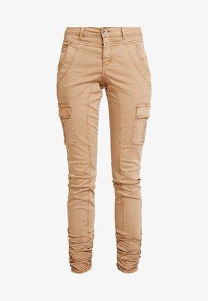 LINA PANTS - Kalhoty - brown sugar