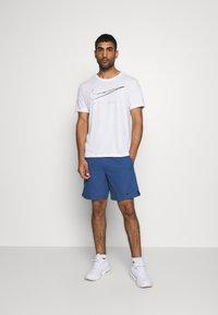 Nike Performance - FLEX VENT MAX SHORT - Pantaloncini sportivi - mystic navy/black - 1