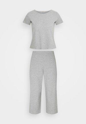 SET - Pyjama set - dark grey