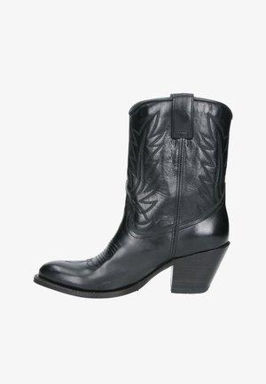 Cowboy-/Bikerlaarsjes - zwart