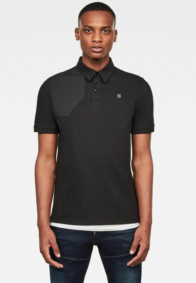 HUNTING PATCH - Poloshirt - dk black