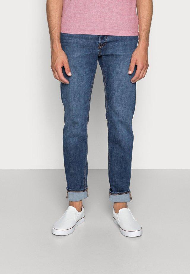 JJIMIKE JJORIGINAL - Straight leg jeans - blue denim
