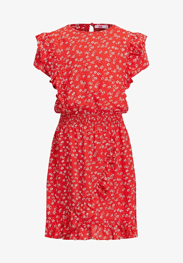 Day dress - bright red