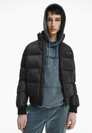 Winter jacket - ck black / mix media