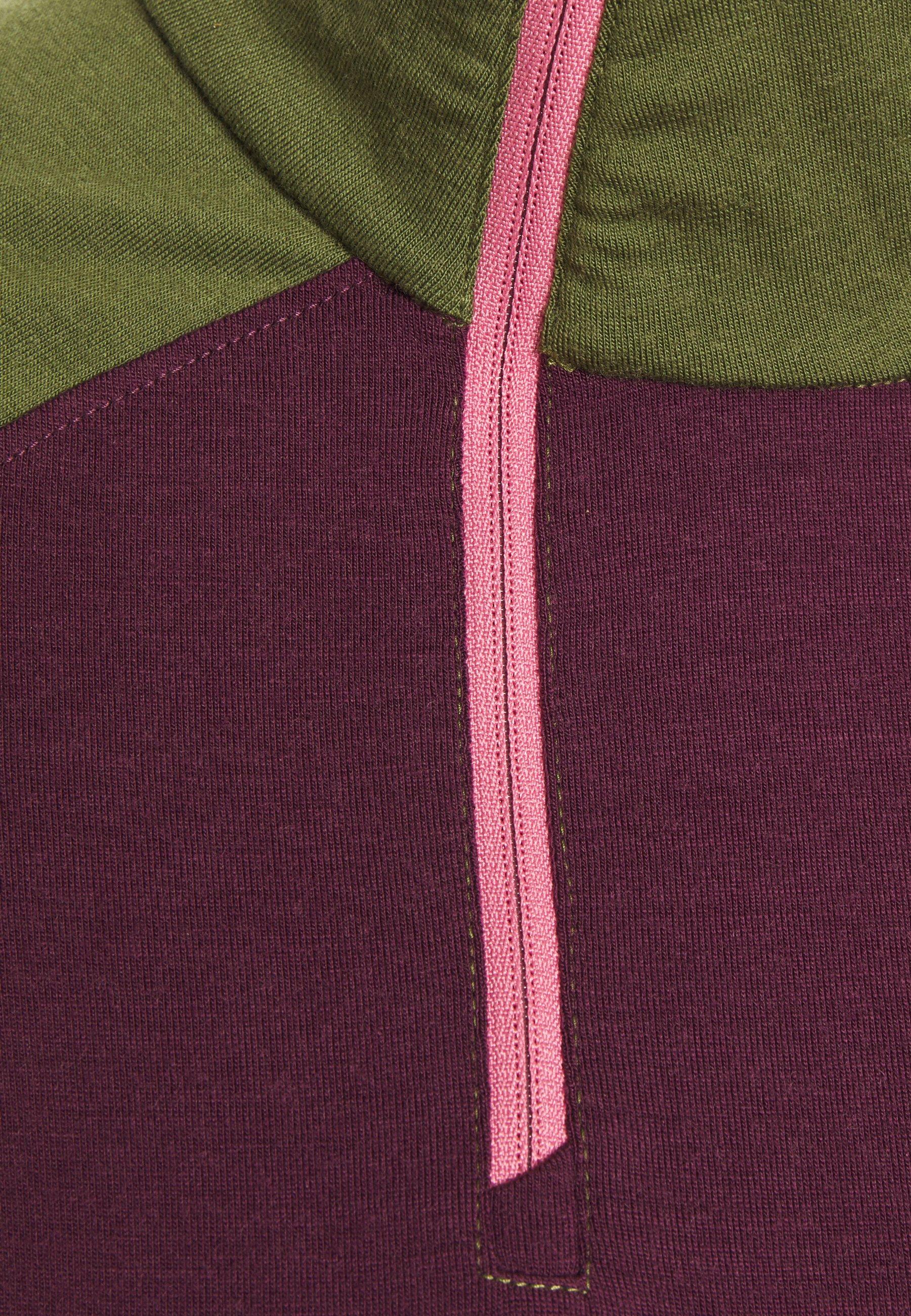 Mons Royale OLYMPUS 3.0 - Sports shirt - blackberry/avocado vPkzv