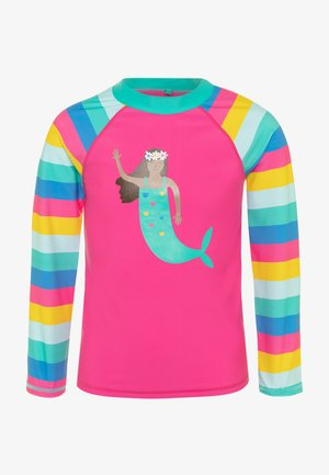 OEKO-TEX SUN SAFE RASH MERMAID - Rash vest - flamingo