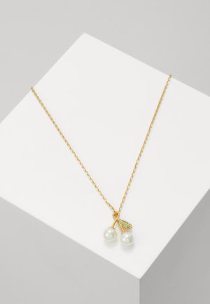 CHERIE CHERRY PENDANT - Necklace - gold-coloured