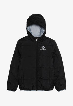 WORDMARK QUILTED JACKET - Zimní bunda - black