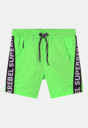TEXT TAPE UNISEX - Swimming shorts - gecko green