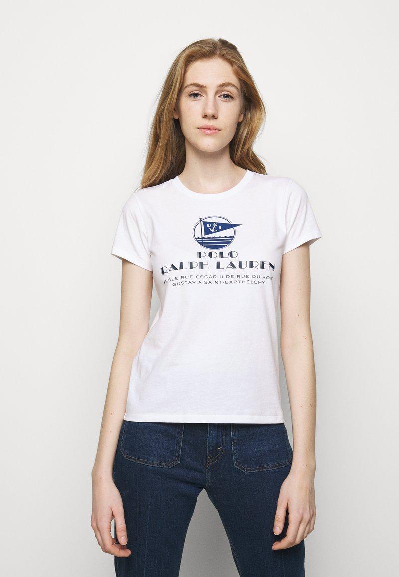 Polo Ralph Lauren - Print T-shirt - white