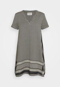 DRESS - Denní šaty - black/stone